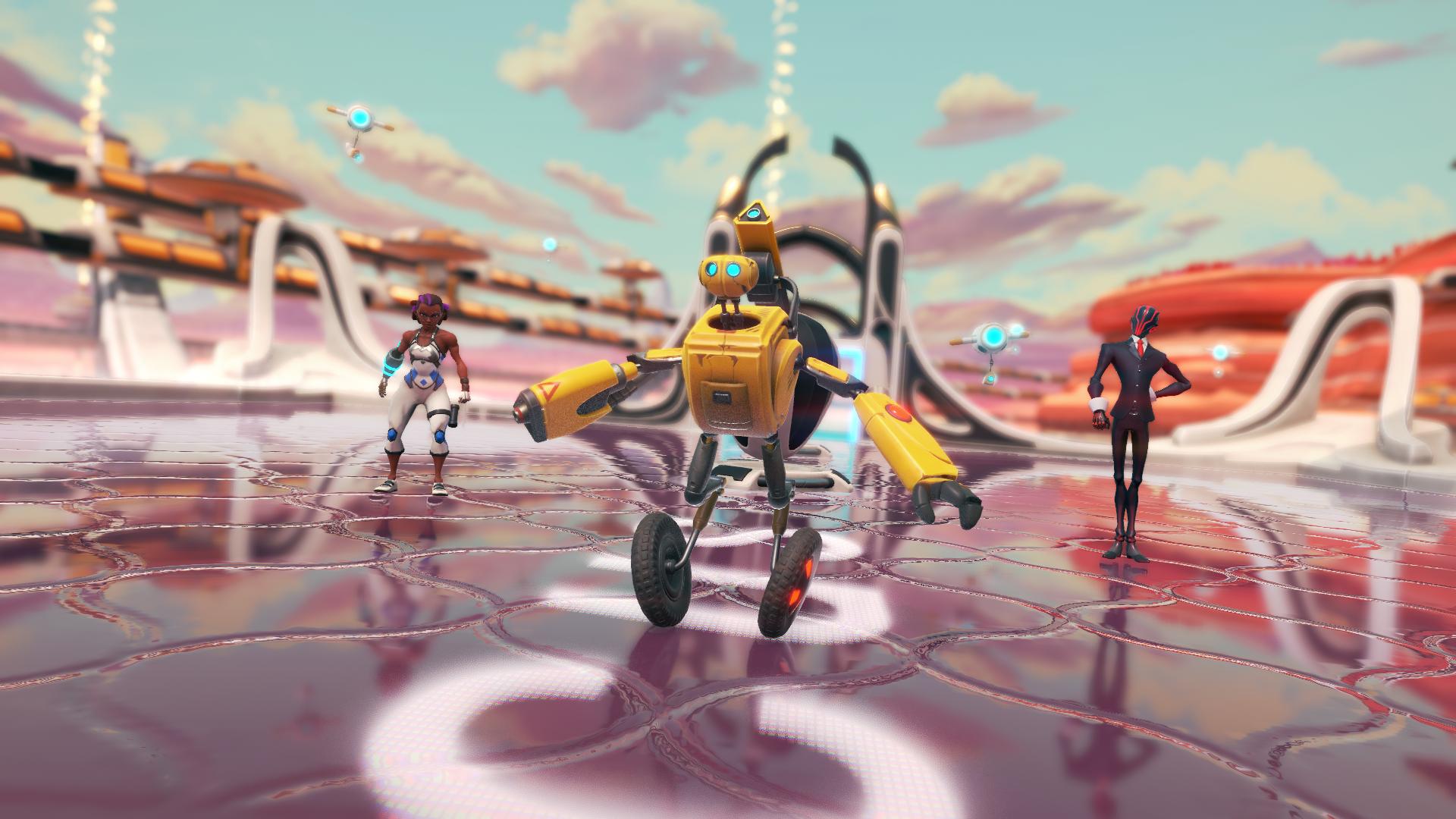 Intro cutscene Mars arena